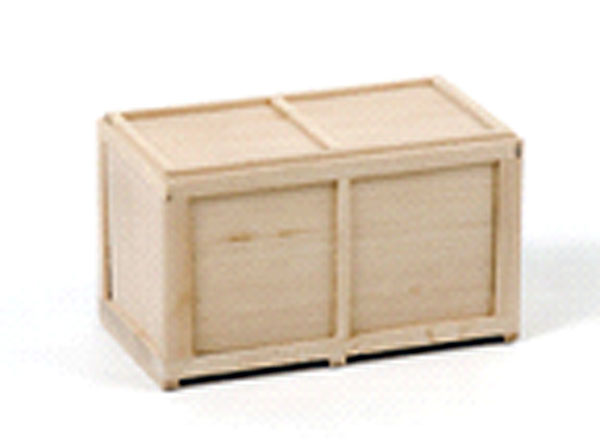 12-1013 - WSI Model Wooden Box Load 11 cm