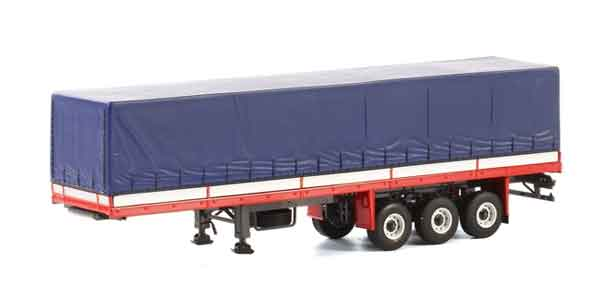 13-1028 - WSI Model 3 Axle Classic Curtainside Trailer WSI