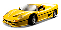 BBURAGO - 16004Y - Ferrari F50 in Yellow