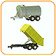 BRUDER - 00450 - Barrel Trailer and