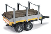 BRUDER - 02213 - Timber - Log Trailer