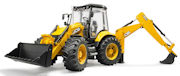 BRUDER - 02454 - JCB 5CX Eco Backhoe