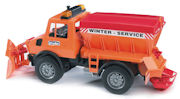 BRUDER - 02572 - Snowplow - This