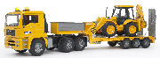 BRUDER - 02776 - MAN TGA Low Loader