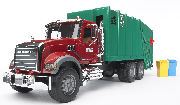 BRUDER - 02812A - MACK Granite Garbage