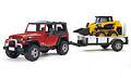 BRUDER - 02924 - Jeep Wrangler with
