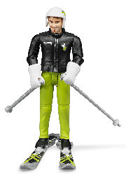 BRUDER - 60040 - Skier with Accessories