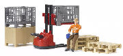 BRUDER - 62200 - Logistics Set with