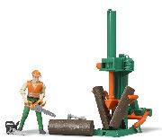 BRUDER - 62650 - Logging Set with