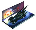 EAGLEMOSS - EM-BM004 - Batmobile from Batman