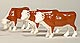 ERTL - 12660-25 - Cattle - Herefords