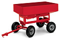 ERTL - 14700 - Red Gravity Wagon