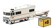 GREENLIGHT - 51082-CASE - 1973 Winnebago Chieftain