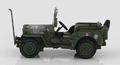 HOBBY MASTER - HG1609 - Willys MB Jeep -