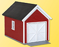 KIBRI - 38150 - One Car Garage Plastic