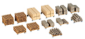 KIBRI - 38607 - Stacked Lumber -