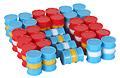KIBRI - 39386 - Oil Drums Plastic