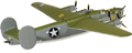 MODEL POWER - 5557-2 - B-24D - This diecast