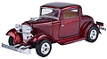 MOTORMAX - 73251AC-MR - 1932 Ford Coupe