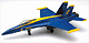 NEW-RAY - 21415 - Blue Angel F-18