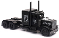 NEW-RAY - SS-11643 - Black Out - Peterbilt