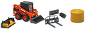 NEW-RAY - SS-33133C - Kubota SSV65 Skid