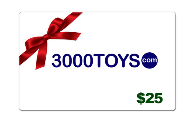 EC25 - 3000toys Christmas E Gift Card Give them
