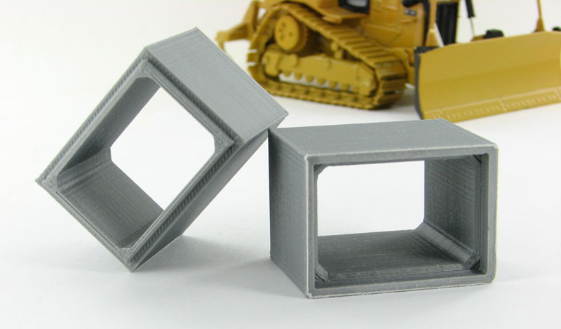 50-120-GY - 3d To Scale Concrete Box Culvert grey 2 pack ABS