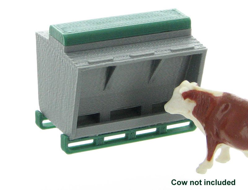 64-314-GY - 3d To Scale Livestock Feeder ABS
