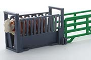 3D TO SCALE - 64-316-GY - Livestock Squeeze