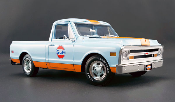 A1807202 - ACME Gulf Racing 1968 Chevrolet C 10 Pickup