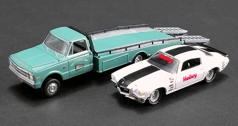 GL-51247 - ACME Holley 1967 Chevrolet Ramp Truck and 1971