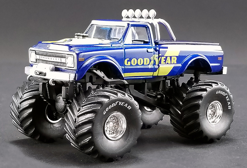 GL-51267 - ACME Goodyear 1970 Chevrolet K 10 Monster Truck