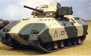 0040-X - Altaya M2 Bradley Tank MODEL HAS A BROKEN