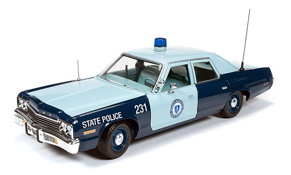 1023-X - American Muscle Massachusetts State Police 1974 Dodge Monaco Pursuit