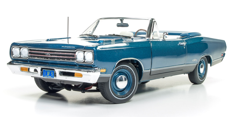 1102 - American Muscle Plymouth GTX Convertible