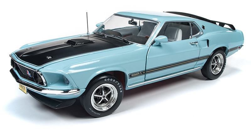1181 - American Muscle 1969 Ford Mustang Mach 1