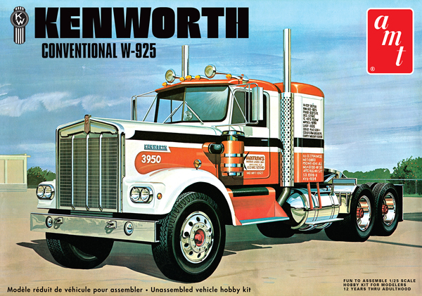 1021 - AMT Kenworth W 925 Conventional Tractor