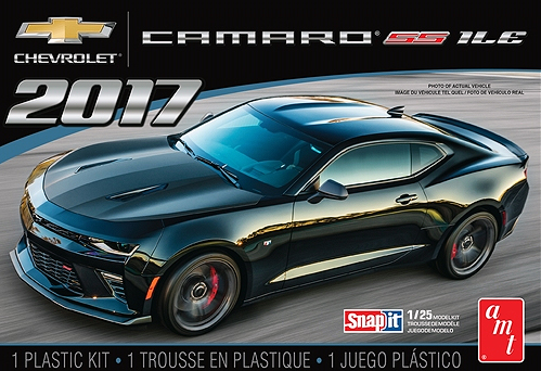 1032 - AMT 2017 Chevrolet Camaro ILE Snap Together