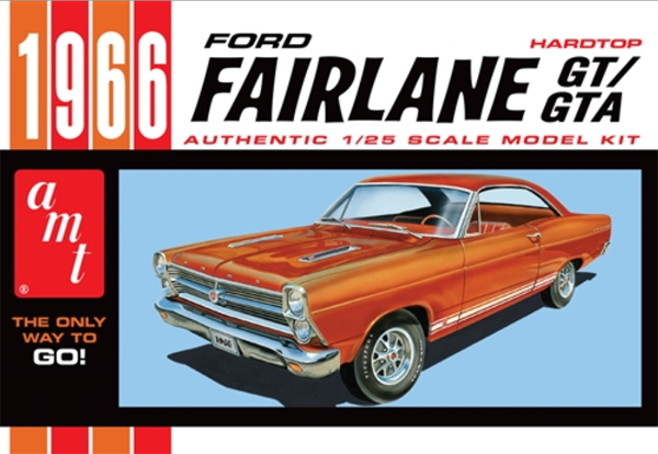 1091 - AMT 1966 Ford Fairlane GT