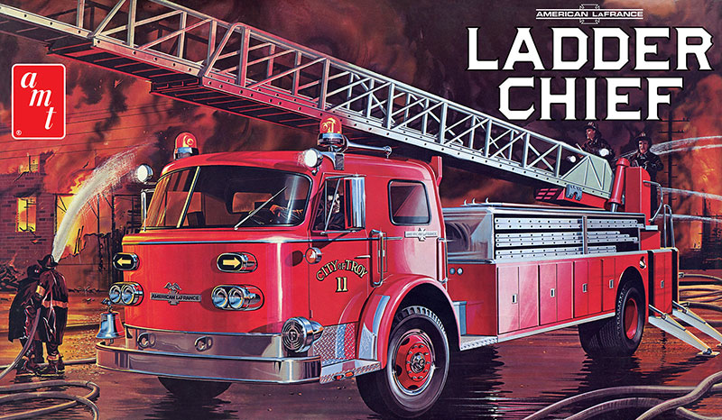 1204 - AMT American LaFrance Ladder Chief Fire Truck
