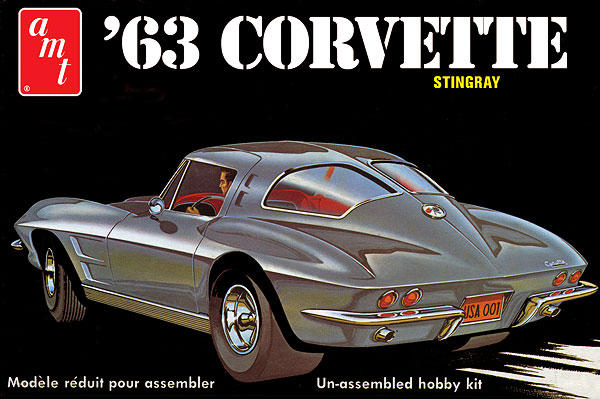 861 - AMT 1963 Chevy Corvette