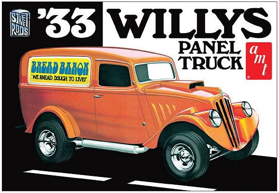 879 - AMT 1933 Willys Panel Truck