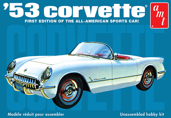 910 - AMT 1953 Chevrolet Corvette Molded