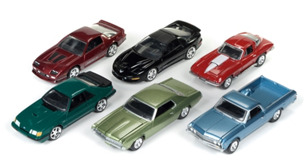 64021-A-CASE - Auto World 1 64 Diecast Deluxe Release