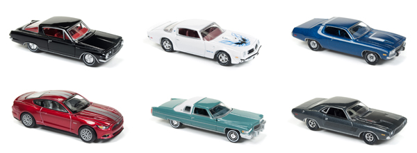 64112-A-SET - Auto World 1 64 Diecast Premium 2017