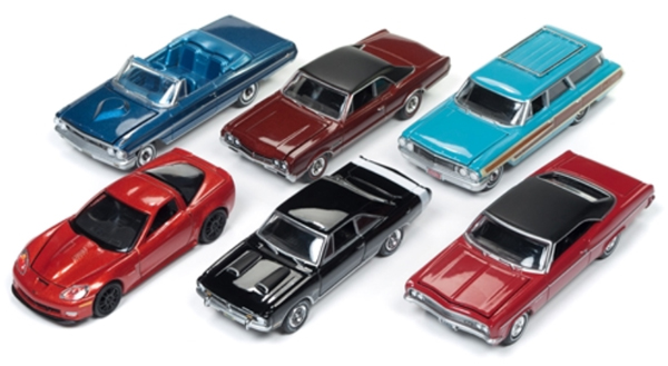 64162-A-SET - Auto World 1 64 Diecast Premium 2018