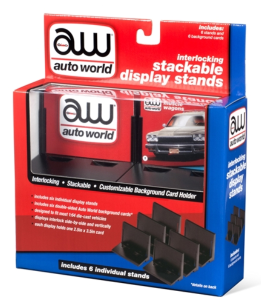 AWDC017 - Auto World Stacking Display Stand 6 Pack