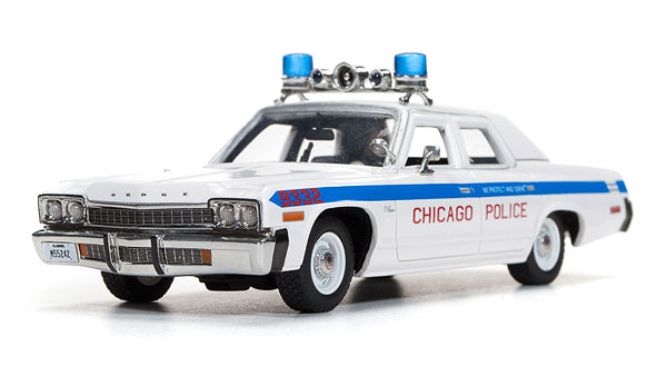 AWR1142 - Auto World Chicago Police 1974 Dodge Monaco