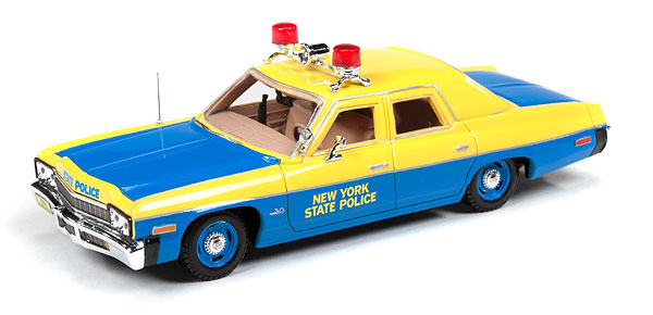 AWR1150 - Auto World New York State Police 1974 Dodge Monaco